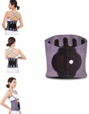 Lumbar Support Belt Back Brace Hot-Pressure Belts Warm for Sciatica, Spinal Stenosis, Scoliosis or Herniated Disc Four Seasons Available