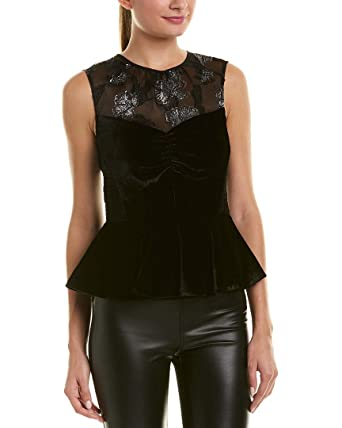 abba77d3740870 Image Unavailable. Image not available for. Color  Rebecca Taylor Womens  Velvet ...