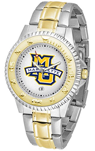 - Marquette Golden Eagles Competitor Two-Tone Men's Watch
