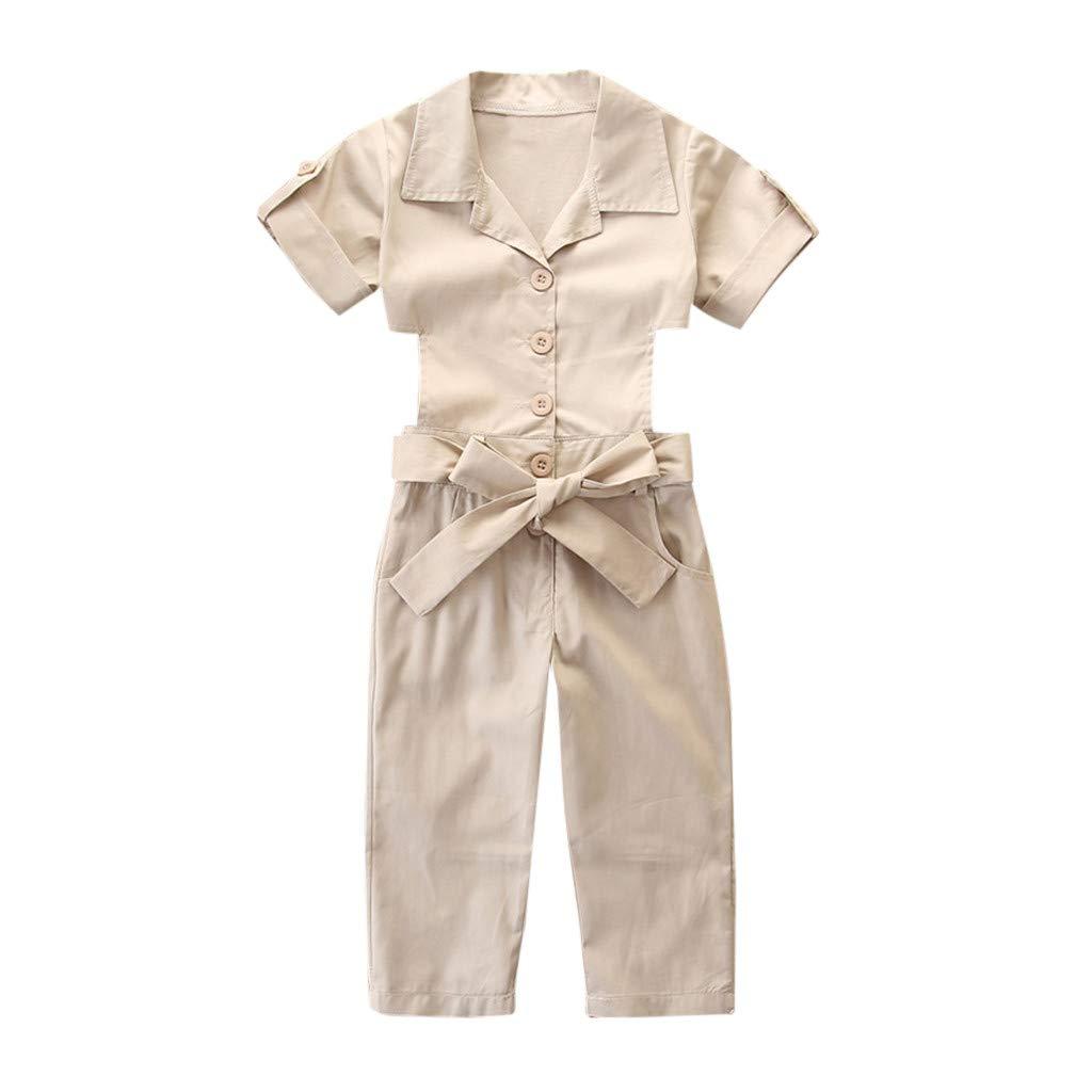 LIKESIDE Clothing Sets Baby Girls Toddler Sleeve Top Pants Dress Bike Summer