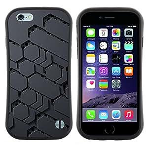 "Hypernova Slim Fit Dual Barniz Protector Caso Case Funda Para Apple (5.5 inches!!!) iPhone 6 Plus / 6S Plus ( 5.5 ) [Modelo de Ciencia Ficción Extranjero Gris Pc Gamer""]"