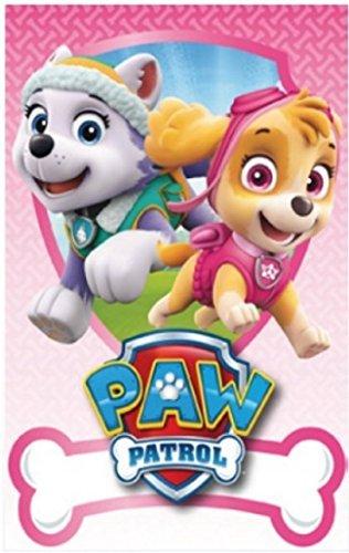 Paw Patrol Official Boys Girls 150cm X 100cm Soft Fleece Blankets Skye Everest