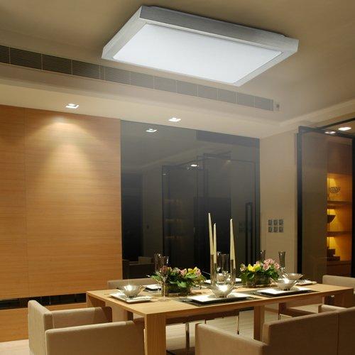 Lu-Mi® LED Deckenleuchte 12W Eckig Badlampe Designleuchte ...