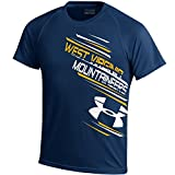 NCAA West Virginia Mountaineers Youth Tech Tee, Navy, Large