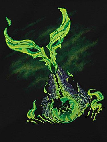 JINX-World-of-Warcraft-Legion-Womens-Obelisk-Premium-CottonPoly-T-Shirt
