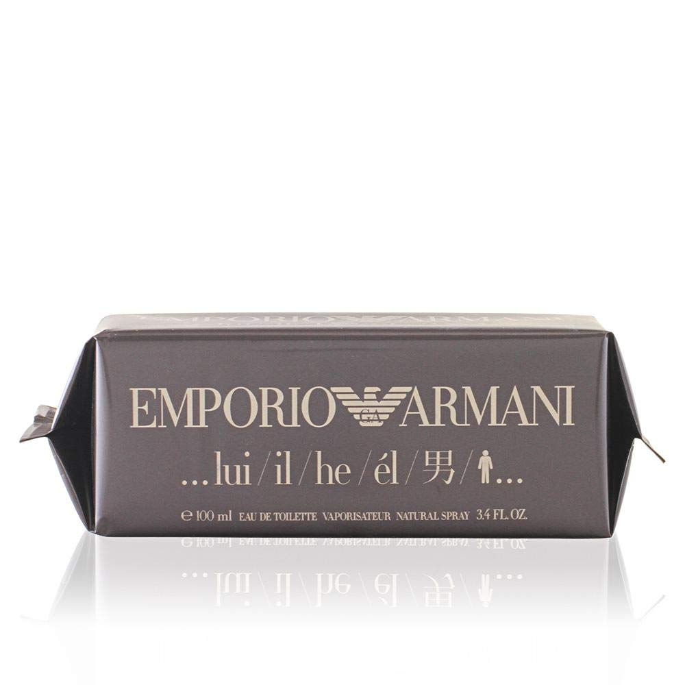 cb8ffcca1fe1b Emporio Armani By Giorgio Armani For Men. Eau De Toilette Spray 1.7 Ounces