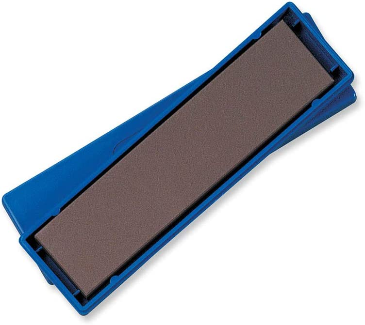 Spyderco - BenchStone Sharpening Stone with Polymer Case - Medium Grit - 302M: Sports & Outdoors