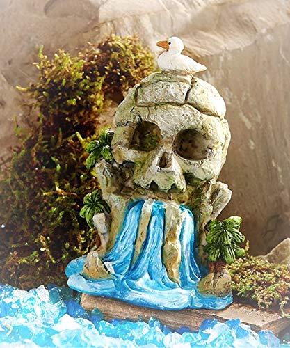 Dollhouse Peter Pan Neverland Skull Island Waterfall - Miniature Magic Scene Supplies Your Fairy Garden - Outdoor House Decor