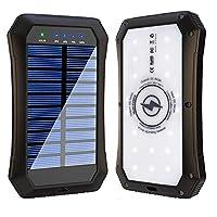Solar Power Bank, Wireless 15000mAh Port...