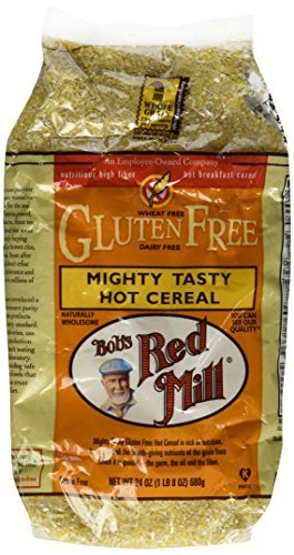 Mighty Tasty Hot Cereal, Gluten Free, Bob's Red Mill - 2/24oz Bags by Bob's Red ()