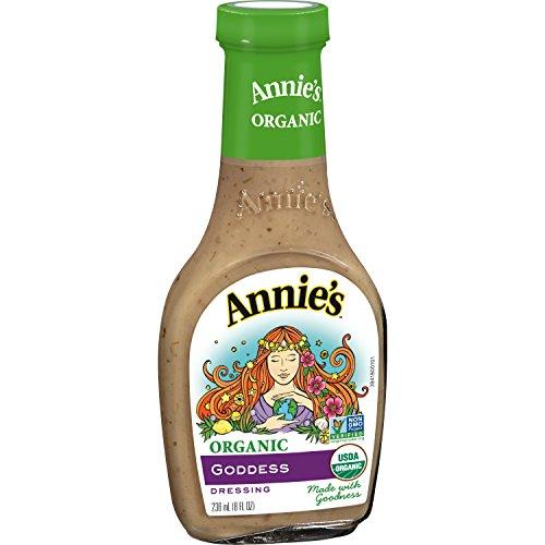 Annies Homegrown Organic Goddess Dressing, 8 Ounce