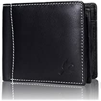 HORNBULL Black Mens Wallet