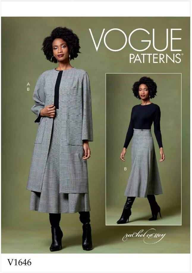 Vogue Patterns-V1646Z- Patrones de costura para chaquetas y ...