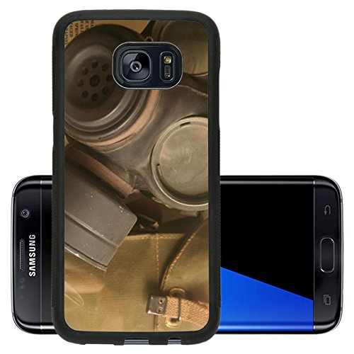 Liili Premium Samsung Galaxy S7 Edge Aluminum Backplate Bumper Snap Case IMAGE ID: 306826 soldiers gask mask