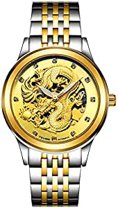 Tevise Casual Watch Analog Stainless Steel Band for Men 9006G-SGG