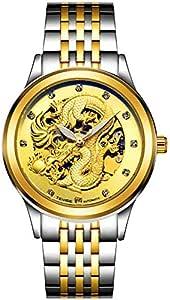 تيفايس ساعة كاجوال انالوج للرجال بسوار من ستانلس ستيل 9006G-SGG