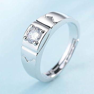 Weiwei Uomini anello anelli Weiwei Uomini anello anelli Europa y los Estados Unidos Moda simulación Diamante