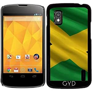 Funda para Google Nexus 4 - Bandera De Jamaica by Carsten Reisinger