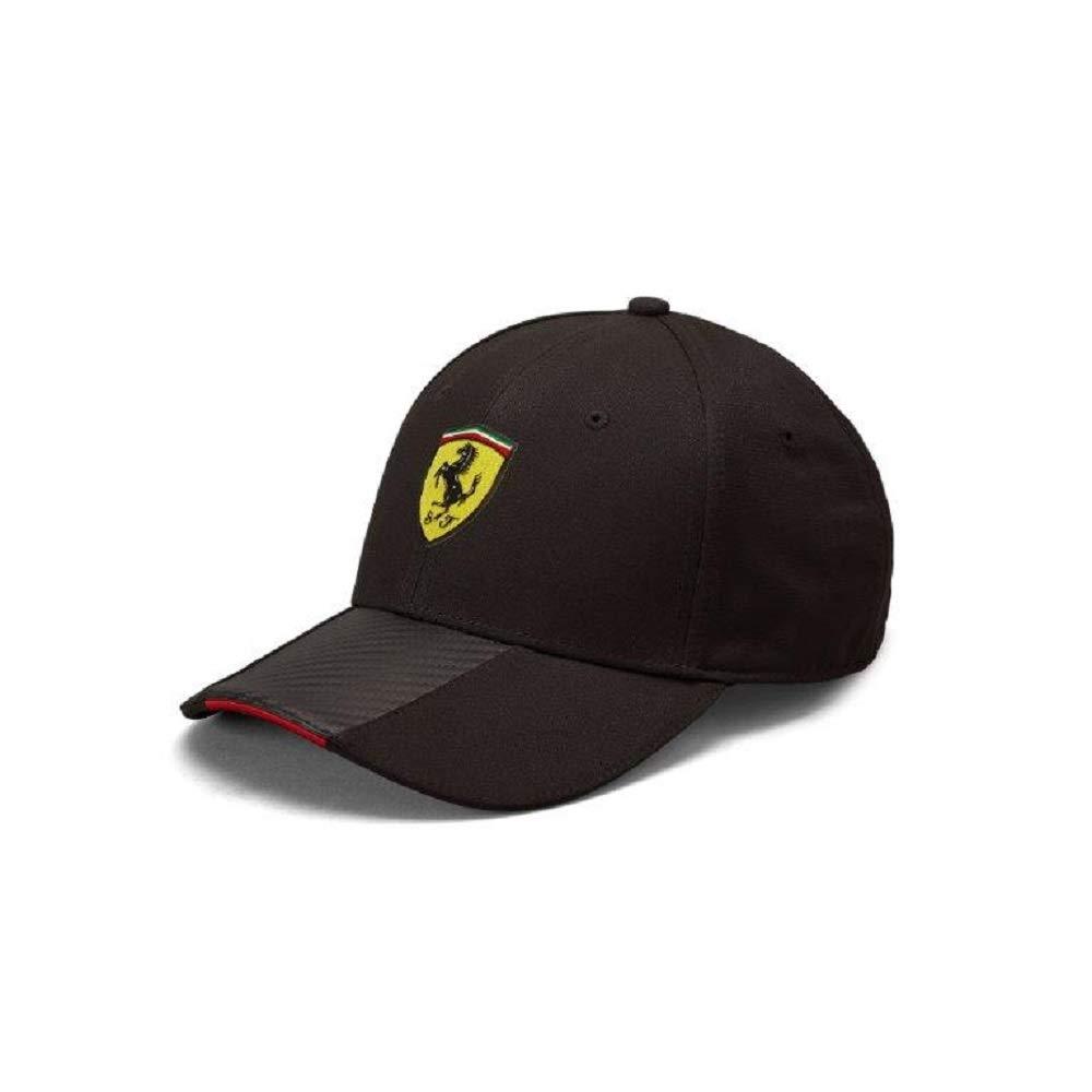 Scuderia Ferrari F1 Black Carbon Hat Branded Sports Merchandising B.V