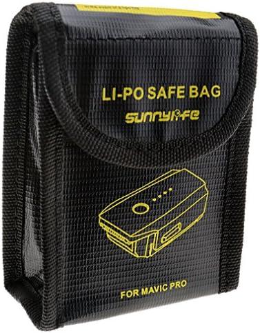 DJI Rangement sécurité batterie Portable Sac Lipo résistant au feu pour Mavic Pro 3pcs