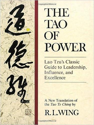Of leadership pdf tao