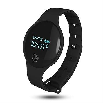 QSJWLKJ Bluetooth Smart Watch Pulsera Deportiva Podómetro ...