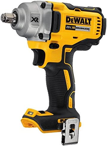 DEWALT 20V MAX XR Cordless Impact Wrench with Hog Ring Anvil, 1 2-Inch, Tool Only DCF894HB