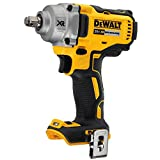 DEWALT 20V MAX XR Cordless Impact Wrench with Hog Ring Anvil, 1/2-Inch, Tool Only (DCF894HB)