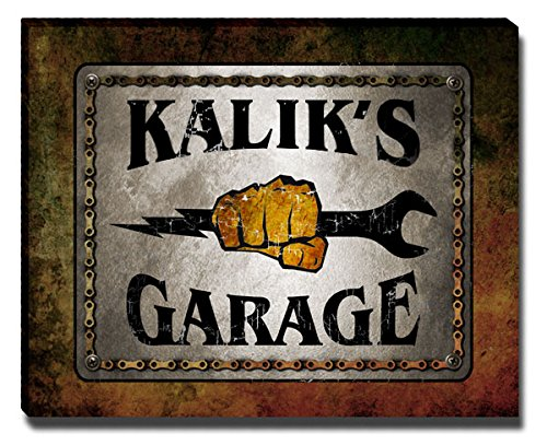 ZuWEE Kalik's Garage Family Name Gallery Wrapped Canvas for sale  Delivered anywhere in USA