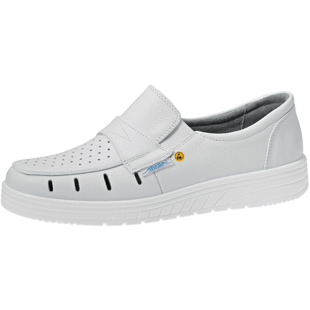 Abeba Air Cushion Zapatillas Perforado Blanco ESD 32300