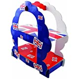 Amscan PPP 2-Tier Great Britan Sandwich Stand