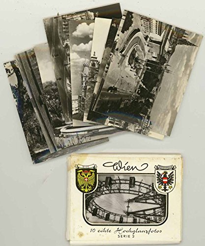 Vienna Austria - Souvenir Miniature Photo Packet 1950 HDH