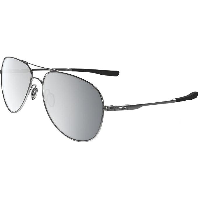 cba133821 Amazon.com: Oakley Elmont Round Sunglasses, w/Chrome Iridium, 58 mm: Oakley:  Clothing