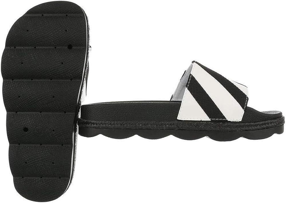 Ital-Design Damenschuhe Sandalen /& Sandaletten Pantoletten