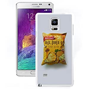 Unique Designed Cover Case For Samsung Galaxy Note 4 N910A N910T N910P N910V N910R4 With Ah Honey Butter Chip Snack (2) Phone Case Kimberly Kurzendoerfer
