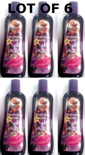 Gold Cheeky Brown Bronzer Tanning Bed Salon & Outdoor Lotion ()