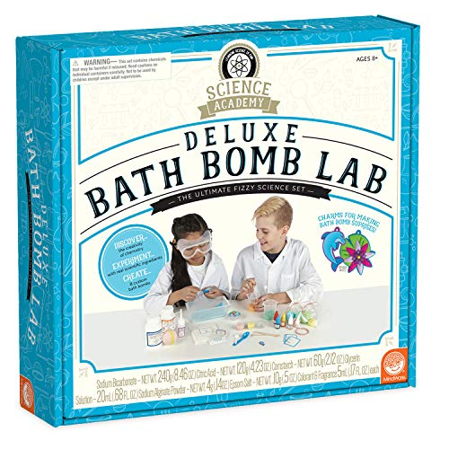 Kit Deluxe Science - MindWare Science Academy (Deluxe Bath Bomb)