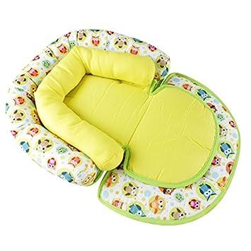 per seggiolino dell/'auto Cuscino con supporto morbido per la testa e il collo dei neonati passeggino e carrozzina Kakiblin