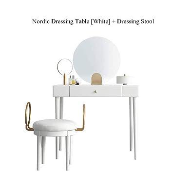 Amazon.com: YUNXIAOHONG Dressing Table - Modern Minimalist ...