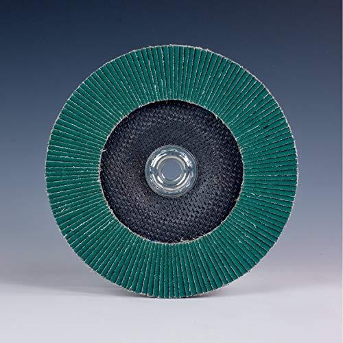 3M Flap Disc 577F - 40 Grit Aluminum Zirconia