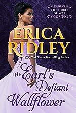 The Earl's Defiant Wallflower: A Historical Regency Romance Novel (Dukes of War Book 2)