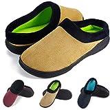 Gibobby Slippers for Women Memory Foam Open Toe