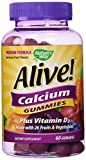 Cheap Alive! Calcium Nature's Way 60 Gummy