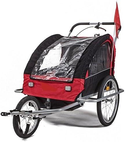 Remolque carrito transportín bicicleta para llevar niño con kit de ...