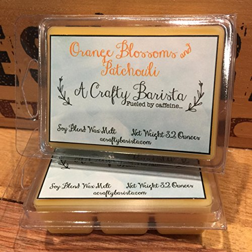 Orange Blossom and Patchouli Scented Wax Melts, 3.2 (Blossom Floating Candles)