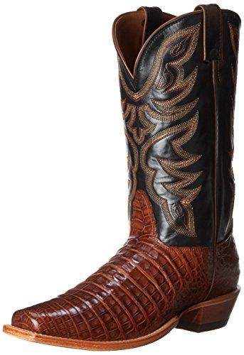 Nocona Boots Mens Kajman L Tå Western Boot Cognac