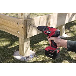 SKIL 2888-03 18-Volt Cordless 2-Speed Drill/Driver Kit with Keyless Chuck, 2 Batteries and 1 Hour Charger