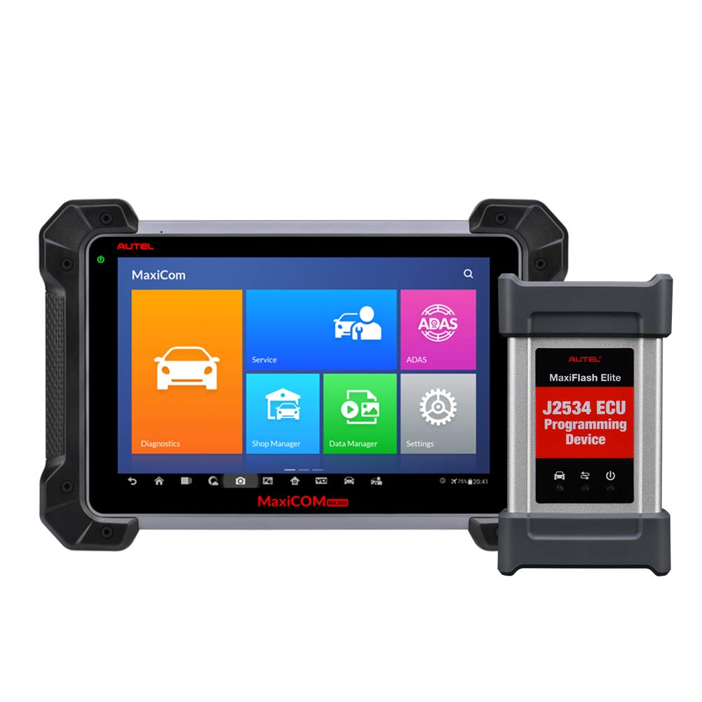 Autel MaxiCOM MK908P Diagnostic Tool Automotive Full System Diagnoses Coding and J2534 ECU Programming, The Upgraded Version of MS908P