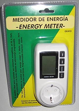Ico-GE Medidor de Consumo Electrico: Amazon.es: Electrónica