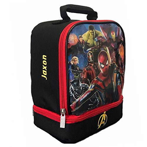- Personalized Licensed Lunch Bag (Avengers)
